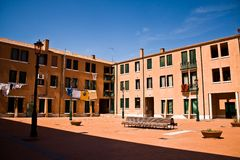 Appartements de Murano Images libres de droits