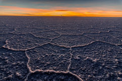 Appartements de sel, Bolivie Images stock