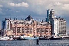 Appartements de Silodam, Amsterdam, Pays-Bas Images libres de droits