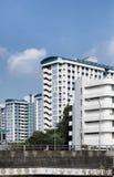 Appartements du HDB de Singapour Images libres de droits