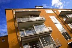 Appartements exécutifs colorés Photographie stock