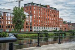 Appartements hus Fotografering för Bildbyråer