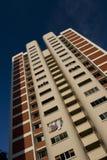 Appartements élevés de logement à caractère social à Singapour Images libres de droits