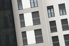 Appartements modernes Photo libre de droits