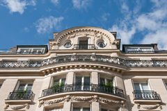 Appartements parisiens luxueux Images libres de droits