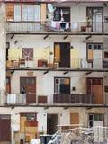 appartements sociaux Images stock