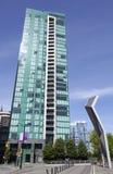 Appartements verts de ville Photographie stock libre de droits