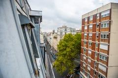Appartements vivants de Paris Photo libre de droits
