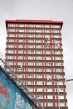 Appartment building in West Belfast, Northern Ireland Royalty Free Stock Photography