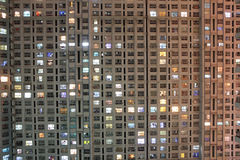 Appartment at night Stock Photos