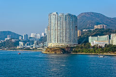 Appartments in Aberdeen Hong Kong build in Fen Shui Style Royalty Free Stock Photography