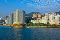 Appartments in Aberdeen Hong Kong build in Fen Shui Style Royalty Free Stock Image