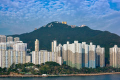 Appartments in Aberdeen Hong Kong Royalty Free Stock Image