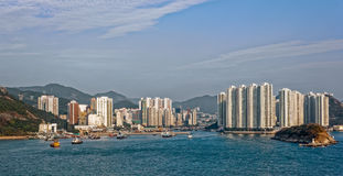 Appartments in Aberdeen Hong Kong Stock Photography