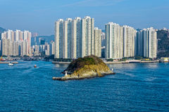 Appartments in Aberdeen Hong Kong Royalty Free Stock Photos