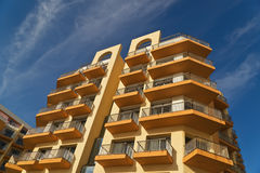 The appartments building Stock Photos