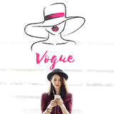 Appeal Attraction Beauty Fashion Vogue Graphic Concept Royalty Free Stock Photo