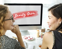 Appeal Attraction Beauty Fashion Vogue Graphic Concept Stock Image