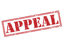 Appeal red stamp Royalty Free Stock Photo