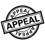 Appeal rubber stamp Stock Image