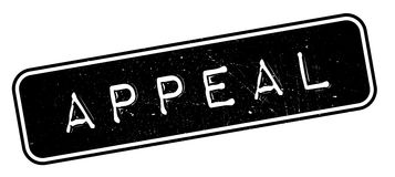 Appeal rubber stamp Royalty Free Stock Photography