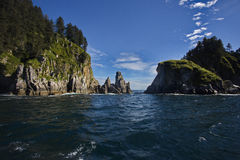 Appealing perspective of Kenai Fjords National Park Stock Image