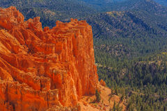 Appealing rock formation. Bryce Canyon National Park. Utah, US. Appealing rock formation. Bryce Canyon National Park. Utah, United States of America Royalty Free Stock Images