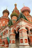 Appearance beautiful domes of St. Basil's Cathedral Royalty Free Stock Image