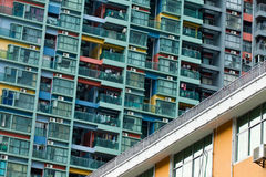 Appearance of Residential buildings. In a  Residential zone,china Royalty Free Stock Photo