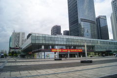 The appearance of Shenzhen Grand Theatre building Stock Photography
