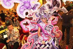 Appearance Solo Batik Carnival Royalty Free Stock Images