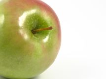 Appearing green apple Royalty Free Stock Photos