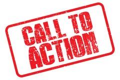 Appel à l'action illustration libre de droits