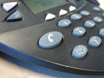 Appel-bouton au téléphone de conférence images stock