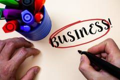 Appel conceptuel d'affaires d'apparence d'écriture de main Travail Specialty Corporate Occupation Entrepreneur Company du commerc photo libre de droits