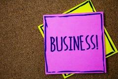 Appel conceptuel d'affaires d'apparence d'écriture de main Travail Specialty Corporate Occupation Entrepreneur Company du commerc images libres de droits