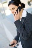 Appel d'affaires photo stock
