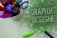 Appel de motivation de conception graphique des textes d'écriture de Word Le concept d'affaires pour l'art de combiner des images Image stock