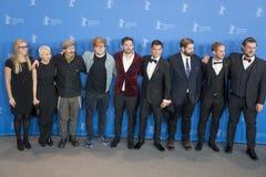 Appel de photo de ` de compositeur de ` pendant le soixante-huitième festival 2018 de Berlinale image libre de droits