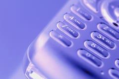 Appel de téléphone portable parti Images libres de droits