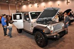 Appel de Wrangler de jeep du rendement 3 Image libre de droits