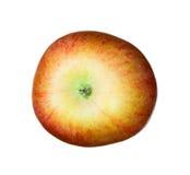 Appel die op een witte achtergrond wordt geïsoleerdc Royalty-vrije Stock Foto