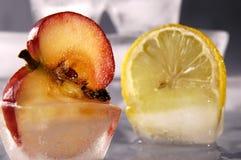 Appel en citroen Stock Foto's