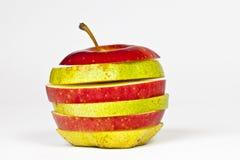 Appel en Peer in  Stock Afbeeldingen