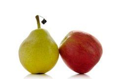 Appel en peer Royalty-vrije Stock Afbeelding