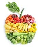 Appel: gezond voedsel Stock Afbeeldingen