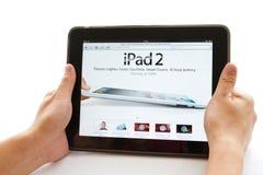 Appel iPad Royalty-vrije Stock Afbeeldingen