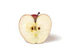 Appel met hartvorm royalty-vrije stock afbeeldingen
