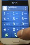 Appel mobile Image libre de droits