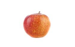 Appel op een witte achtergrond Stock Afbeeldingen